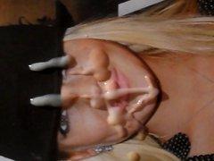 Cum On vidz Lindsay Lohan's  super Face! A Tribute!