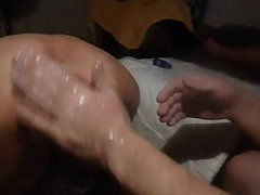 Russian hard vidz punch fisting  super hot athletic Latin rosebud