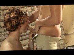Blonde Cutie vidz Fabien Rossis'  super XL Fucking Adventure