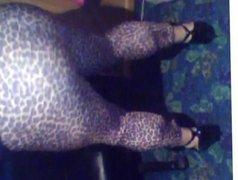 Leopard skin vidz Leggings
