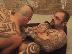 Tattooed Fist vidz Pigs