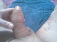 Touching my vidz cock
