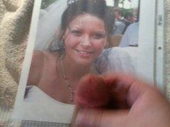 Naughty Bride vidz Cum Tribute