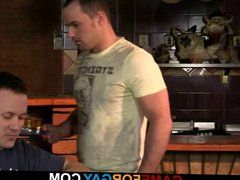 Hetero barman vidz gets seduced  super by a gay