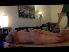Nude Boy vidz Caned For  super Insolence