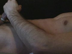 Huge cum vidz load onto  super my own shoulder! Pt1