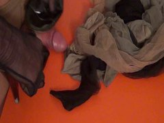 P3 - vidz I SNIFF  super the Madam's Stockings while she is in Shopping
