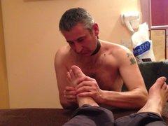 Lick my vidz feet gay