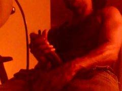 Black Guy vidz Stroking -  super & Shooting Cum Out Of BBC