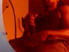 Hot Black vidz Guy Stroking  super BBC - & Shooting Cum PT:2