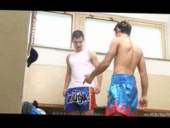 Justin Pheoni vidz Springs His  super Boxer Buddy