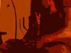 BBC -Cum vidz Shooting Volcano  super Scene
