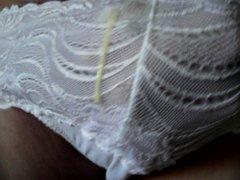 Sperme dans vidz la culotte  super Cum in panties