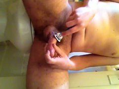 Shaving and vidz masturbating