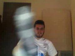 straight male vidz feet -  super CUTE soccer player from argentina