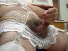 crossdresser in vidz lave lingerie  super masturbating