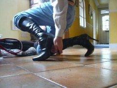 6 inch vidz high heeled  super boots