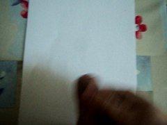 cum on vidz paper