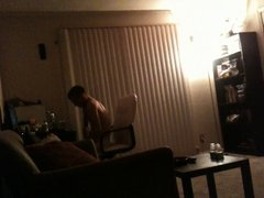 roommate watching vidz porn in  super the dorm