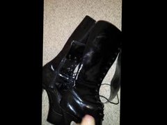 Cum on vidz stripper boots