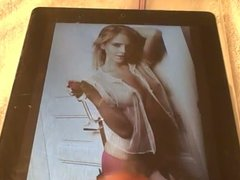 Cum Tribute vidz to Emma  super Watson with Perky Nipples in Lingerie