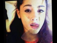 Ariana Grande vidz cumshot facial