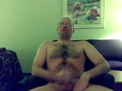 Hot hairy vidz otter jerking  super his dick