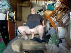 Fucking my vidz ass in  super my storage unit