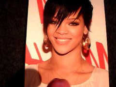Cumshots on vidz Rihanna #1