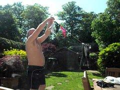 Cuckold washing vidz the panties
