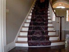 Crossdresser coming vidz down the  super stairs