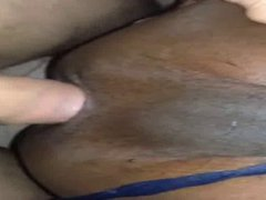 Horny Black vidz Spit Roasted  super by White Cock Bare