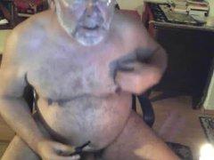 Horny German vidz daddt bear  super hot wax ball torture on cam