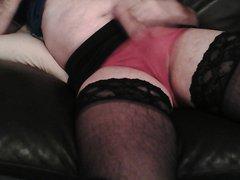 Cumming in vidz Panties &  super Stockings