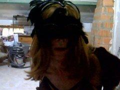 with my vidz female mask