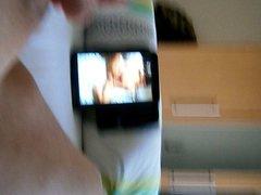 in bed vidz watching videos  super Hamster
