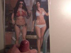 Kim & vidz Kourtney Kardashian  super Cum Tribute