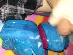 Blue High vidz Heel Pumps  super Cum