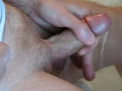 old guy, vidz over 70,  super strokes and cums