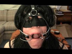 CD Sissy vidz Fucked and  super Gagged for ACF