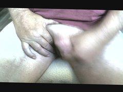 Jerking off vidz my cock.  super I need a big cum load.