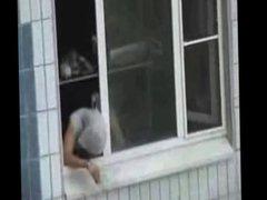horny neighbor vidz jacking off  super to porn