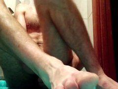 Fucking my vidz ass with  super big dildos and trying to fist