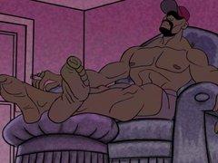 Gay cartoon vidz - foot  super fetish