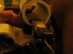 E-stim edging vidz with PVC  super pipe