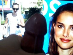 Double Cumshot vidz To Natalie  super Portman Cum Tribute