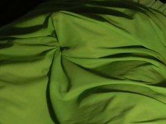 Vintage green vidz nylon slip  super spurt