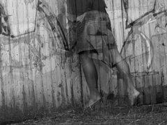 Crossdressing Black vidz & White
