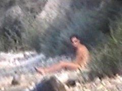Gay guys vidz caught on  super nudist beach
