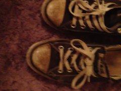 Fucking teenagers vidz trashed converse  super shoes